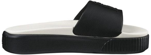 Puma - Platform Slide - Schuhe - Sandalen/FlipFlops - Sandalen - 04 Puma Black-Puma W
