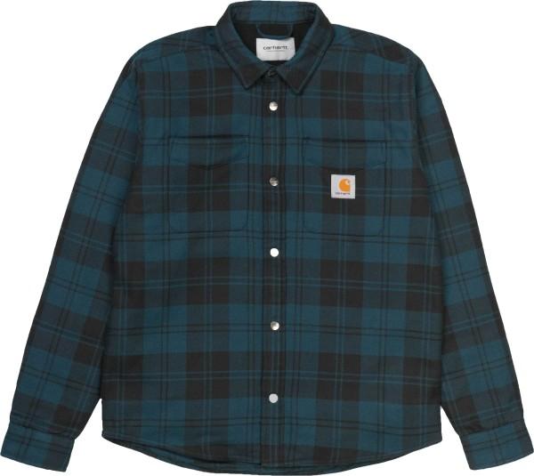 Pulford Shirt - Carhartt - Pulford Check, Duck - Langarmhemd