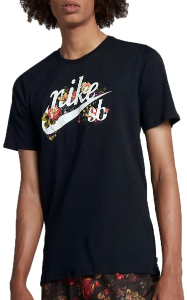 Nike - Dry - Streetwear - Shirts & Tops - T-Shirts - black/white