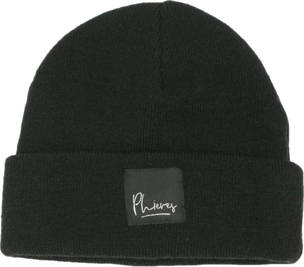 Pharacter II - Beanie - Phieres - Black - Accessories - Caps Mützen und Hüte - Mützen - Beanie