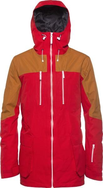 Colour Wear - Thrust Jacket - red - rot - colour wear winterjacket - funktionsjacke - snowjacket