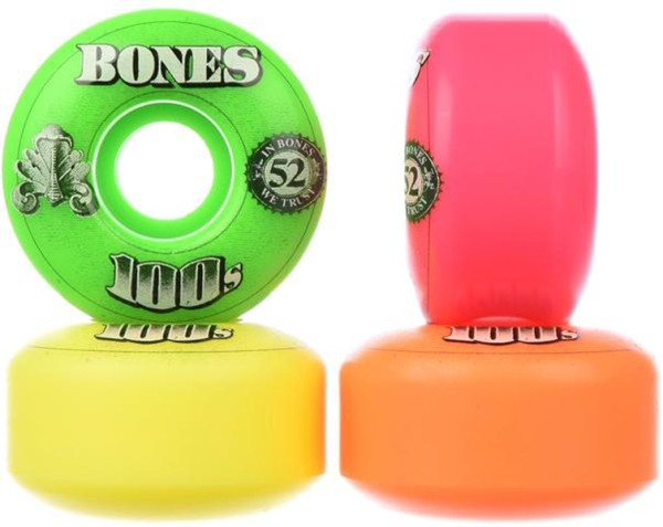 Bones - 100's OG #16 100A multi - Boards & Co  -  Longboard  -  Longboard Wheels  -  LB Rollen-Wheels - Multi