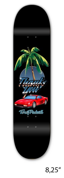 Thank You - Torey Pudwill Rari Nights - Skate - Skateboards - Skateboard Decks - Skatedeck - nocolor