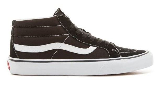 SK8-MID REISSUE SCHUHE - Vans - reissue blk/wht - Sneakers High