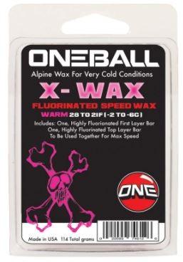 X-wax Warm 32-26F, 110g w/ graphite