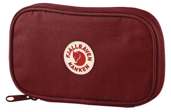 Kanken Travel Wallet - Reisebrieftasche - Unisex - Ox Red