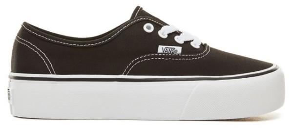 Authentic Platform - Vans - black/white - Sneakers