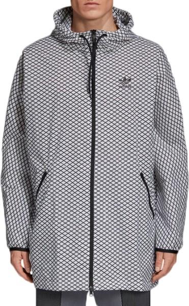 Adidas - PLGN Grid WB - Streetwear - Jacken - Windbreakers - Grey