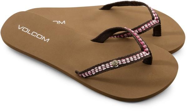 Volcom - Trek - Schuhe  -  Sandalen/FlipFlops  -  Flip Flops - brown