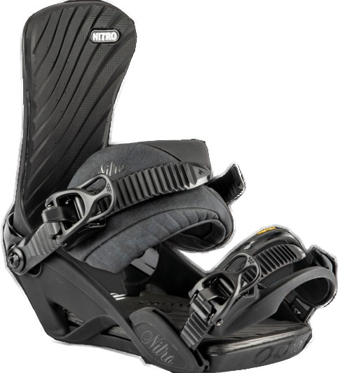 Ivy - Nitro - Ultra Black - Snowboardbindung