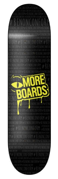 Moreboards - BE NONCONFORM DECK - Skateboard - Skateboard Deck