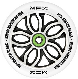 MGP - MFX RWilly Switchblade 120 mm - Rolle - Scooter - Wheel - weiß