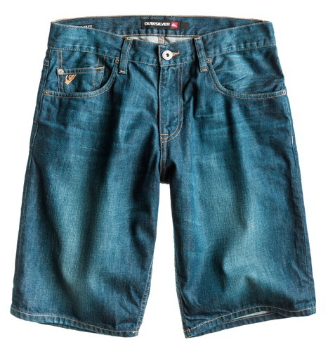 SEQUEL DENIM SHORT - Hose - Quiksilver - Bright Blue