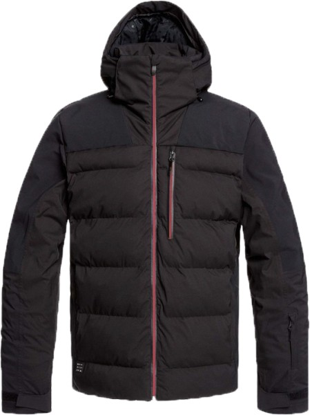 The Edge-Quiksilver-Black-Snowboardjacke
