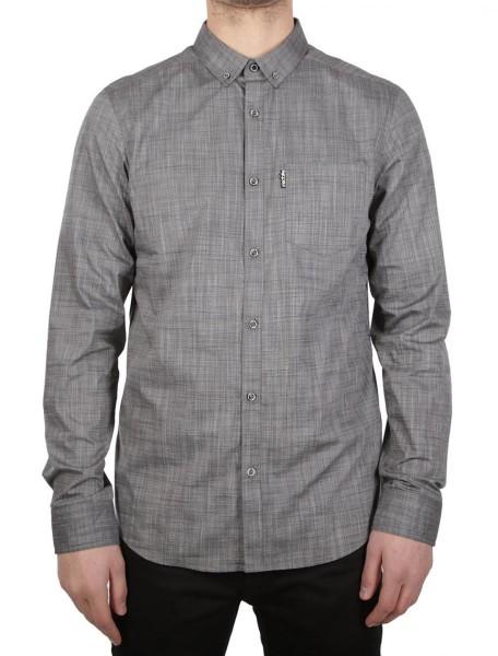 Iriedaily - City LS Shirt - Herren Hemd - Langarm Hemd - Charcoal Melange