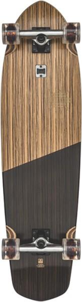 Globe - Blazer XL - Boards & Co  -  Longboard  -  Longboard Decks  -  Complete Longboards - Zebrawood/black