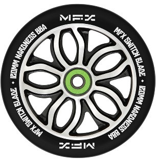 MGP - MFX RWilly Switchblade 120 mm - Rolle - Scooter - Wheel - black