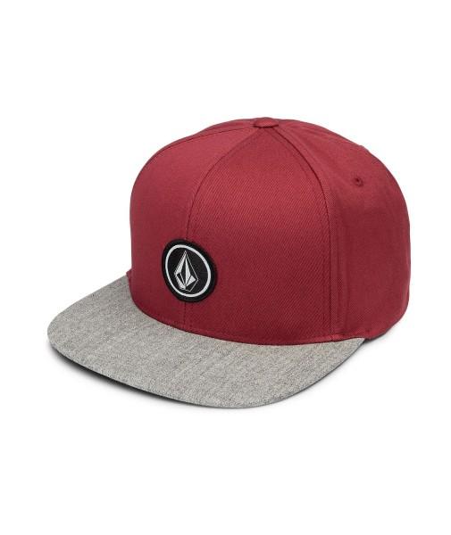 Quarter Twill - Volcom - Burgundy - Snapback Caps