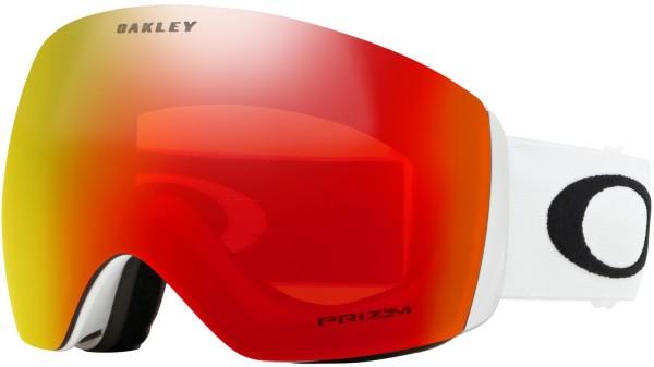 FLIGHT DECK - Oakley - Matte White - Accessories - Schneebrillen - Schneebrillen verspiegelt
