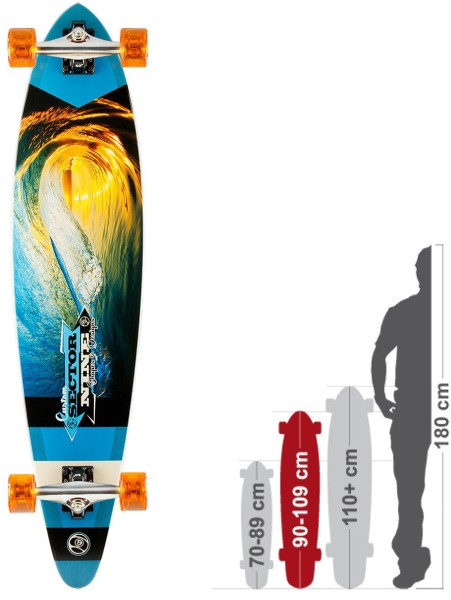 Sector 9 - Ledger - Boards & Co - Longboard - Longboard Decks - Complete Freeride - white