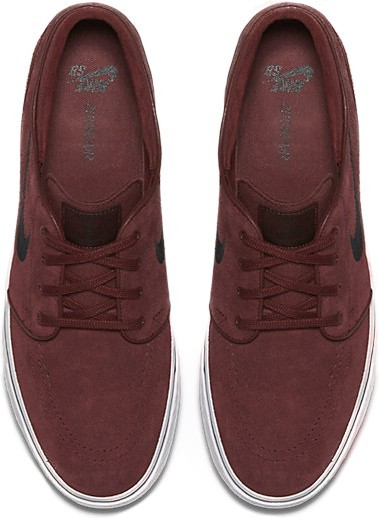 Nike SB - Nike Zoom Stefan Janoski - dark team red black