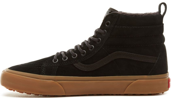Vans - UA SK8-Hi MTE - black gum - brown - Schuhe - Winterschuhe - Winterschuhe High