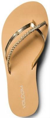 Volcom - Thrills - Schuhe - Sandalen/FlipFlops - Flip Flops - gold