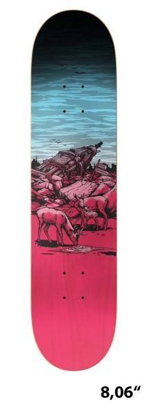 Real - Aftermath - Boards & Co - Skateboard - Skateboard Decks - Skatedecks - colored
