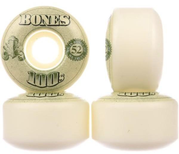 Bones - 100`s OG - Boards & Co - Skateboard - Skateboard Wheels - SB Rollen - Wheels - white