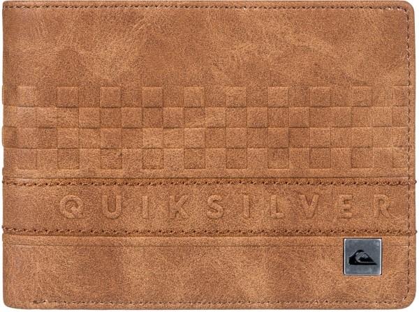Quiksilver - Everyday stripe - Accessories - Geldtaschen - Kunstledergeldtaschen - tobacco brown