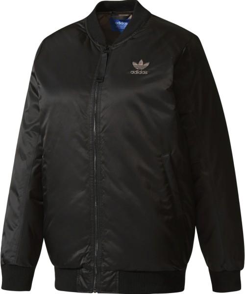 Adidas - Mid Bomber - Streetwear - Jacken - Übergangsjacken - black