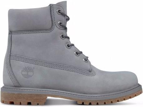 Timberland - 6IN Premium - Schuhe - Winterschuhe - Winterschuhe High - steeple grey