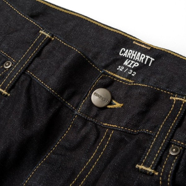 Carhartt - Davies Pant - blue one wash - streetwear - hosen - jeans - straight fit