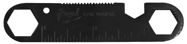 Royal - Tool Keychain - Boards & Co - Skateboard - Skate Zubehör - Skate Tools - black