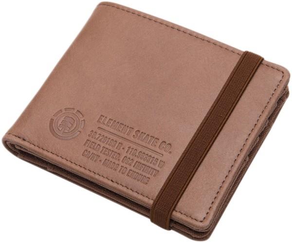 Element - Endure L. II Wallet - brown - braun - accessoires - Geldtaschen - Ledergeldtaschen