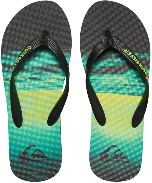quiksilver - molokai hold down - black green green