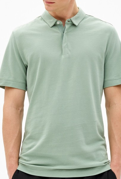 Nowadays - cotton pique - Streetwear  -  Polos  -  Polos Kurzarm - malibu green