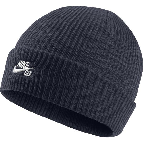 Nike SB - SB Fisherman Beanie - obsidian white - 688684-452