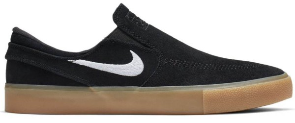 SB Zoom Stefan Janoski Slip RM - Nike - black/white-black-gum light brown - Sneakers