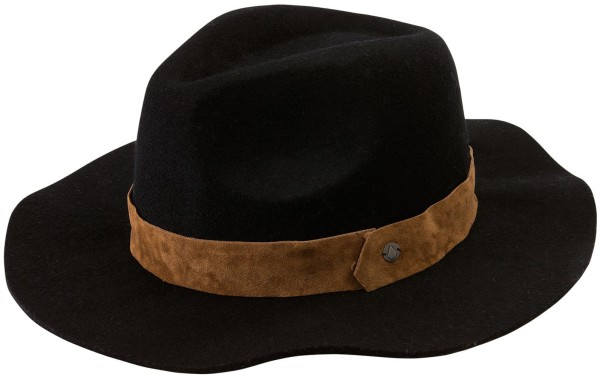 Volcom - Magic touch fedora - Accessories  -  Mützen  -  Hüte - black
