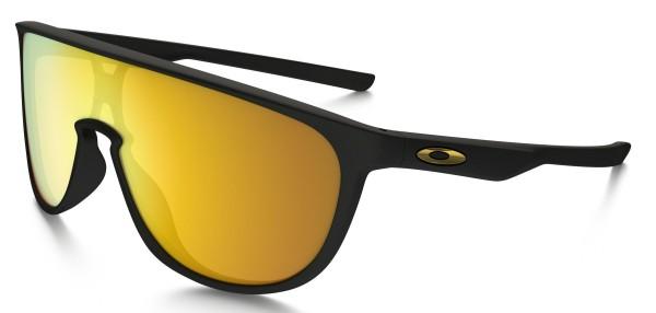Trillbe - Sonnenbrille - Oakley - Herren -Matte Black w 24k Ir