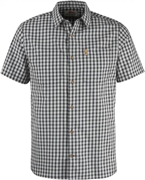 Fjällräven - High Coast Shirt SS - dark grey - dunkel grau - kariertes Hemd - fjällräven hemd - fjällräven kurzarm hemd kariert - hemd von fjällräven