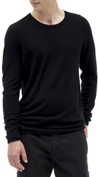 Nowadays - Saddle Shoulder Basic Pullover - black