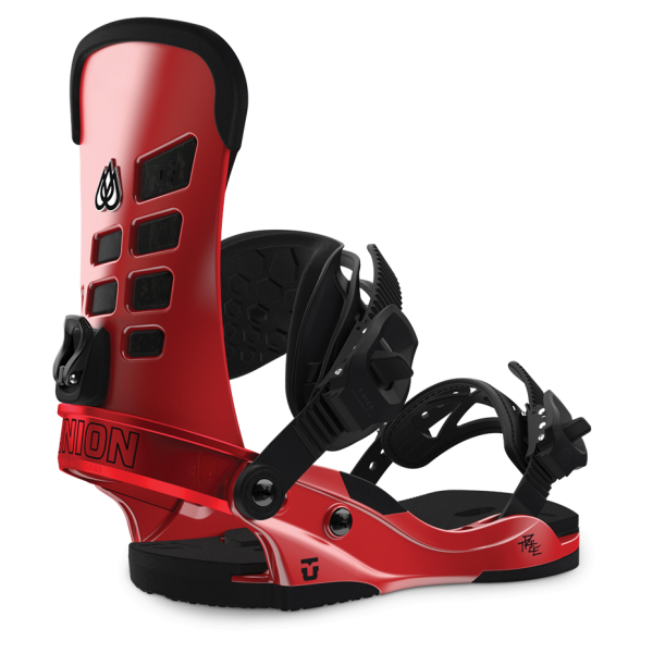 TRAVIS RICE - Snowboardbindung - Union - Herren - Metallic Red