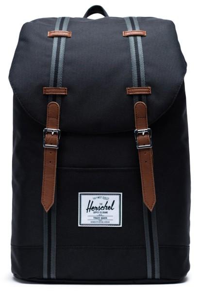 Retreat - Rucksack - Unisex - Black/Black/Tan