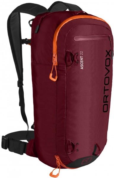 Ortovox - Ascent - Accessories - Rucksäcke & Taschen - Rucksäcke - Technische Rucksäcke - dark blood