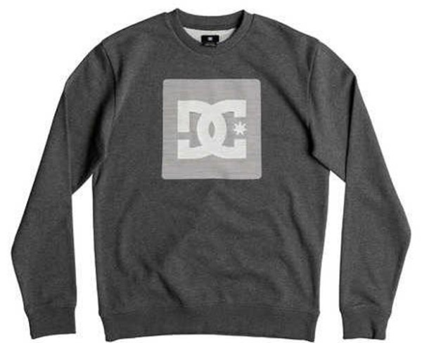 DC - Variation Crew - Herren Crew Sweater - Charcoal Heather