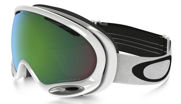 A-FRAME 2.0 - Schneebrillen verspiegelt - Oakley - Unisex - Polished White - Pri