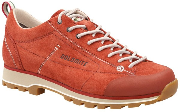 Dolomite - Cinquantaquattro Low W - ginger red/canapa beige - Schuhe - Sportschuhe - Outdoorschue