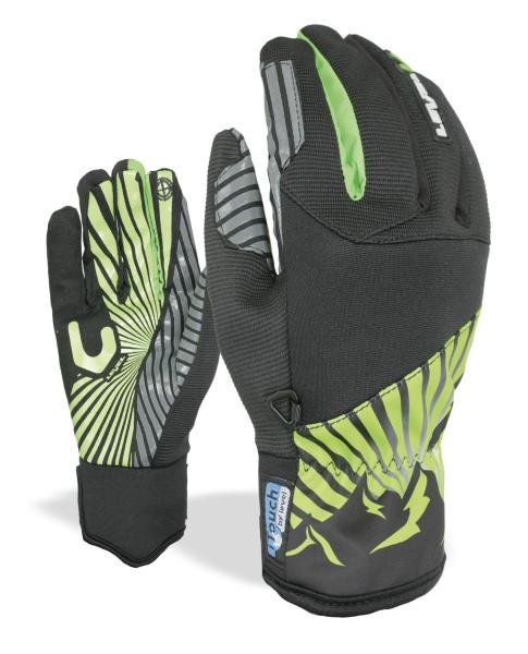 Level - Level Herren Gloves - Herren Handschuhe - Line I Touch - olive green - grün